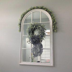 """20"""" Decorative Faux Eucalyptus Wreath"""
